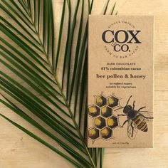Single origin Colombian cacao blended with bee pollen and honey to add a touch of sweetness to this smooth dark chocolate! Honey Chocolate, How To Make Chocolate, Chocolate Companies, Raw Cacao Nibs, Single Origin, Bee Pollen, Smooth, Touch, Dark