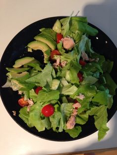today i made my own (too big) salad