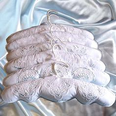 Bridal Closet Padded Hanger Country Vintage by WeddingHolland