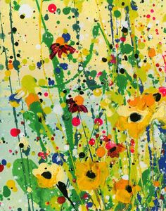 Buy Deep In The Meadow 22 - Floral art by Kathy Morton Stanion, Acrylic painting by Kathy Morton Stanion on Artfinder. Discover thousands of other original paintings, prints, sculptures and photography from independent artists. Original Paintings, Original Art, Spring Art Projects, Bohemian Art, Happy Paintings, Beginner Painting, Panel Art, Cool Art, Nice Art