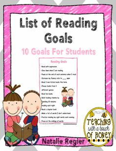 List of Reading Goals