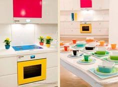 #EuQuero! Cozinha Pantone