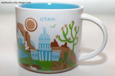 Utah | YOU ARE HERE SERIES | Starbucks City Mugs