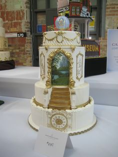 "The competition cake I entered into Bonnie Gordon's ""The Cake Show"" 2012"