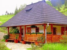 Really want excellent ideas concerning travel? Head to this fantastic site! Little Paris, Kerala Houses, Vernacular Architecture, Village Houses, Little Houses, House In The Woods, Design Case, Traditional House, My Dream Home