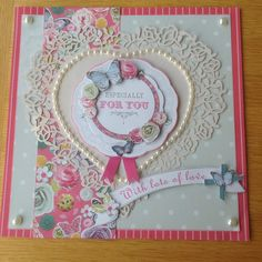 Docrafts Bellisima birthday card