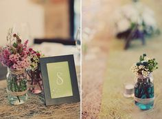 www.theweddingnotebook.com. Photography by One Eye Click. Green vintage wedding