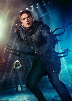 "Promoposter zur US-Serie ""Arrow"""