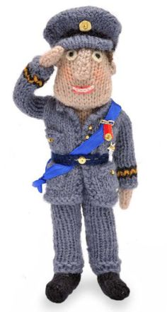 Knit Prince William Doll Free Pattern
