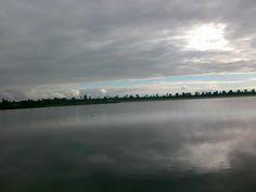 bewolkte dag