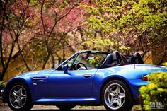 BMW Z3 M Roadster blue