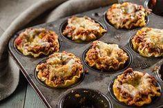 Mini lasagnes en coupes Image 1