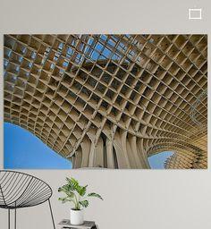 Nieuw in mijn Werk aan de Muur shop: Metropol Parasol , Sevilla