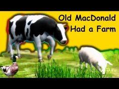 Muffin Songs - Old MacDonald Had a Farm Phonics Song, Alphabet Phonics, Farm Nursery, Nursery Rhymes, First Grade Songs, Farm Songs, Kids Learning Alphabet, Farm Theme, Kids Songs