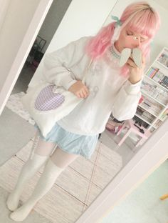 Com ❤ the cutest subscription box kawaii ✖ style платья, одежда, Pastel Fashion, Kawaii Fashion, Lolita Fashion, Cute Fashion, Asian Fashion, Girl Fashion, Fashion Outfits, Looks Kawaii, Estilo Harajuku