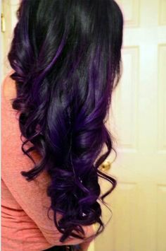 I would love to do this just maybe with red though I looove the purple.