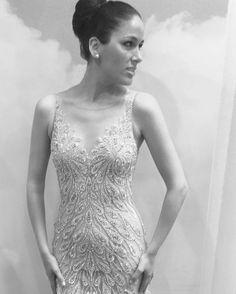 Feather Heaven with Beaded Touches. #DemetriosBride #Demetrios #DemetriosDesign #demetriosdress #gown #weddinggowns #weddingdress #weddinginspiration #wedding #dress #bride #bridal #ido #dressdetails #engaged #weddingdressshopping #isaidyes #bridalstyle