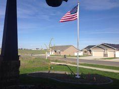 aluminum flagpole