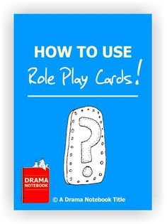 Use this fantastic collection of Role Play Cards to teach and reinforce important drama concepts. Students will learn to create characters, objectives, express emotions and interact with other characters in a believable way.