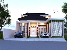 Discover recipes, home ideas, style inspiration and other ideas to try. Design Exterior, Door Design, Modern Minimalist House, My Dream Home, Beautiful Homes, House Plans, Sweet Home, New Homes, House Styles