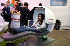 Mashable teamed up with HBO's Silicon Valley to present its Mashable House at the Austin festival. Visitors to the venue were able to nap or... Photo: Nadia Chaudhury/BizBash
