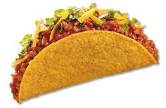 Taco - Most typical Mexican food