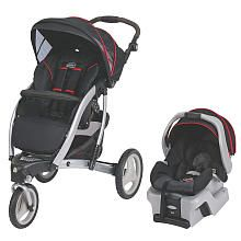 Signature Series by Graco Trekko 3-Wheel Travel System Stroller with SnugRide 30 - Jive