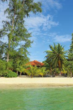 Beautiful beach in Seychelles