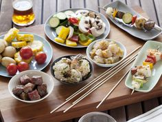 Build-Your-Own Shish Kabobs Recipe : Food Network - FoodNetwork.com