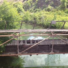 Old bridge in Naches, WA