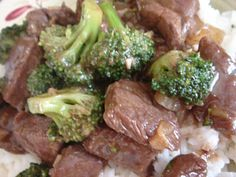 beef and broccoli stir-fry with oyster sauce