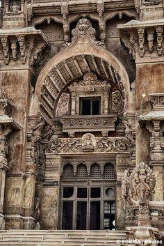 Facade Of Baron Empian Palace, Heliopolis  Egypt