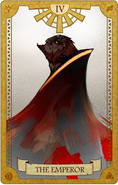 The Emperor, Legend of Zelda, Tarot artwork by 空谷 (Kuukoku)