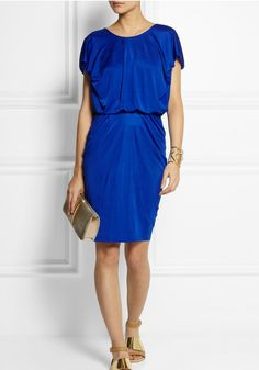 Cobalt blue, and why not?