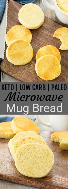 Keto Low Carb Mug Bread is part of Keto This incredibly easy mug bread cooks in the microwave! You can make low carb, keto, paleo and gluten free bread that is ready in less than 10 minutes - Keto Mug Bread, Low Carb Bread, Low Carb Keto, Low Carb Recipes, Bread Diet, Bread Recipes, Carb Free Bread, Roti Bread, Smoothies Sains
