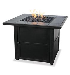 Square Propane Fire Pit | Fire Pits | Plow & Hearth