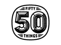 Dribbble - 50 Things. by Tim Boelaars