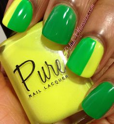 Pure Nail Lacquer Endless and Sunshine