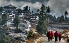Ganty Gompa - Bhutan