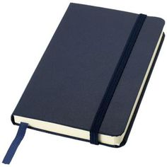a6 premium printed promotional office notebook in navy journal promotional notebooks branded office merchandise