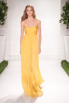 Rachel Zoe Wants Us All to Live in Pretty Maxi Dresses for Spring 2016 via @WhoWhatWear
