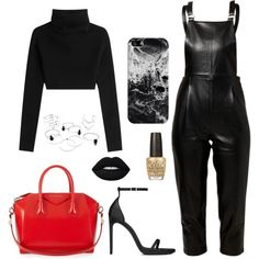 Sans titre #522 by charliesclothes on Polyvore featuring moda, Valentino, Little White Lies, Yves Saint Laurent, Givenchy, Casetify, Lime Crime and OPI
