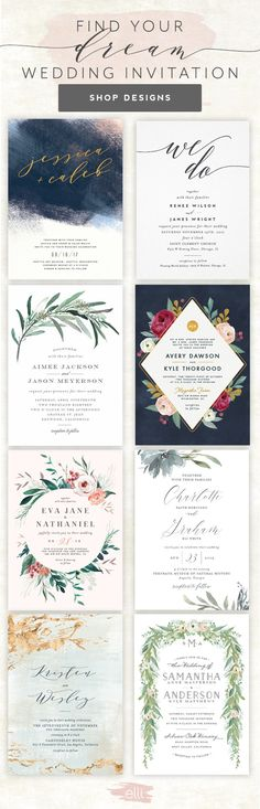 Find hundreds of gorgeous, customizable wedding invitations for your big day! Choose from any theme and get the best one that will fit your big day! Wedding Wishes, Wedding Bells, Fall Wedding, Rustic Wedding, Our Wedding, Dream Wedding, Wedding Tips, Elegant Wedding, Wedding Venues