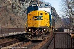 CSX Train  Harpers Ferry WV by BPaydenPhotography on Etsy, $25.00