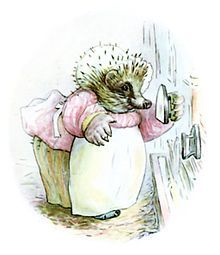 Mrs. Tiggy-Winkle - one of my favorite Beatrix Potter characters