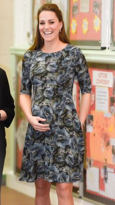 February 18. 2015 - The Duchess of Cambridge at Action for Children's Cape Hill Centre in Smethwick