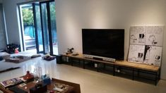 Shelf TV stands