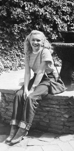 Marilyn Monroe. Bella adolescente