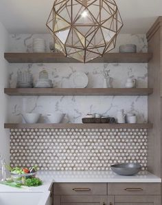 These hexagon tiles are just perfect 👌👌. These are their Wooden Grey Hexagon - wood-look marble tile in a geometric pattern. Luxury Homes Interior, Home Interior, Interior Decorating, Interior Design, Home Decor Kitchen, Kitchen Design, Kitchen Hacks, Kitchen Ideas, Elegant Kitchens