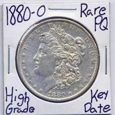 Item specifics     Year:   1880   Composition:   Silver     Strike Type:   Business   Country/Region of Manufacture:   United States     Mint Location:   New Orleans ...